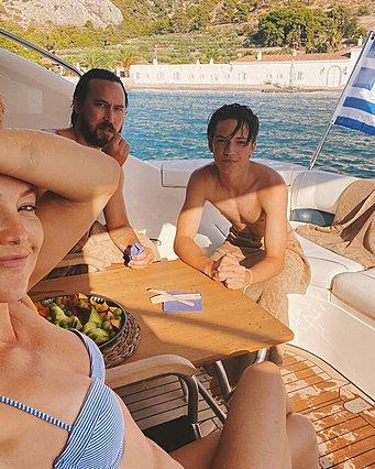 Η Kate Hudson το παραδέχεται δημόσια:  Ελλάδα σ' αγαπάμε