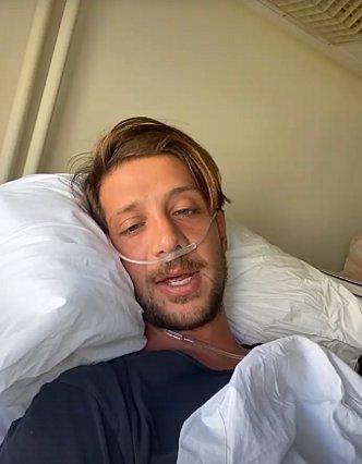 Στο νοσοκομείο ο Ηλίας Μπόγδανος - Υποτροπίασε ο κορονοϊός
