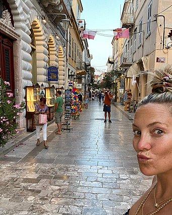 Kate Hudson: Μετά τη Σκιάθο, την καρδιά της κέρδισε το Ναύπλιο - Η απίθανη ανάρτηση από το ταξίδι της εκεί