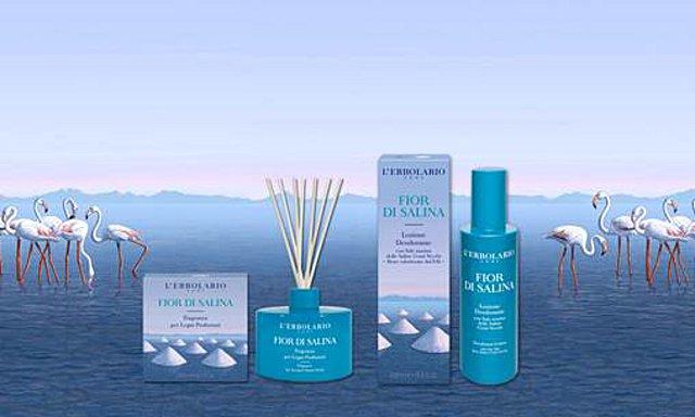 Fior Di Salina: Δύο νέα προϊόντα ολοκληρώνουν την αρωματική σειρά της L'Erbolario με τα άλατα της Μεσογείου