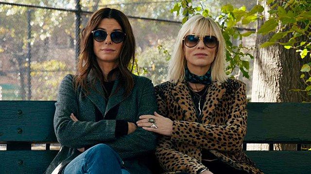 <p>Sandra Bullock (56), Kate Blanchet (52).</p>