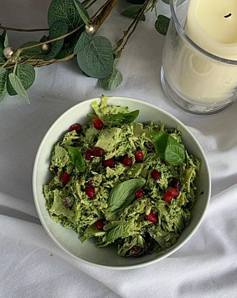 Πώς να φτιάξεις σαλάτα με μπρόκολο και πέστο