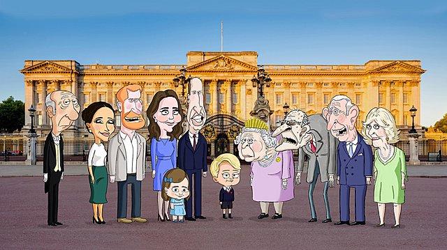 The Prince: Πονοκέφαλος για τη βασιλική οικογένεια η σειρά κινουμένων σχεδίων που σατιρίζει τον πρίγκιπα George