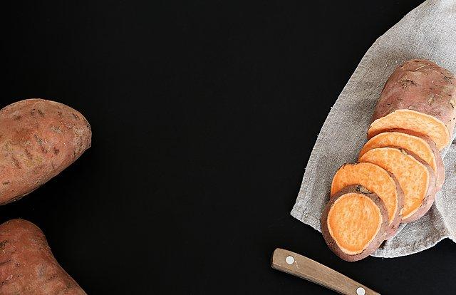 Η συνταγή για τέλειες ψητές γλυκοπατάτες