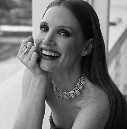 Jessica Chastain: Το φιλί από παντρεμένο ηθοποιό στο κόκκινο χαλί
