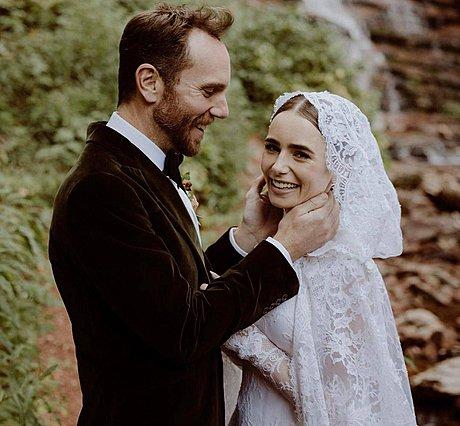 Η Lily Collins παντρεύτηκε: Ξέρεις γιος ποιων διάσημων ηθοποιών είναι ο άντρας της;