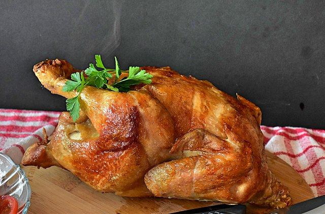 Η απόλυτη συνταγή για ψητό κοτόπουλο