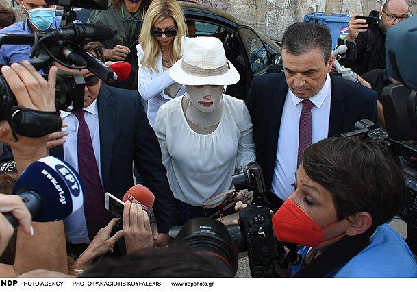 Ιωάννα Παλιοσπύρου: Συγκλονίζει η εικόνα της στο δικαστήριο