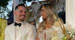 Λευτέρης Πετρούνιας - Βασιλική Μιλλούση: Εικόνες και βίντεο από τον γάμο τους