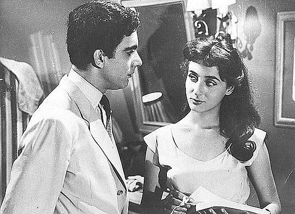 Η Έλλη Λαμπέτη σε μια σπάνια φωτογραφία από το 1961